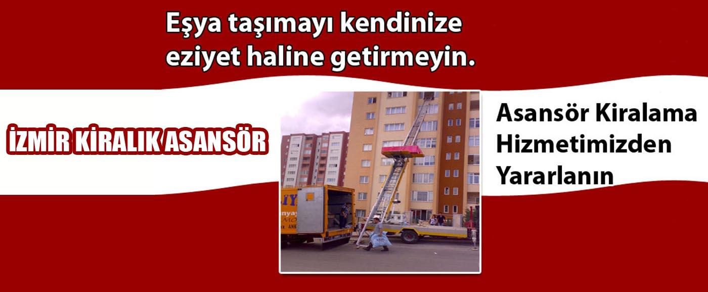 İzmir Kiralık Asansör